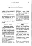 1982 Scientific Committee Report