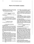 1985 Scientific Committee Report