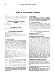 1986 Scientific Committee Report
