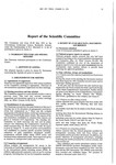 1991 Scientific Committee Report