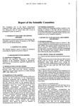 1993 Scientific Committee Report