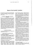1997 Scientific Committee Report