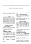 1999 Scientific Committee Report