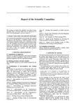 2000 Scientific Committee Report