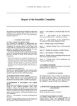 2001 Scientific Committee Report