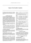 2002 Scientific Committee Report