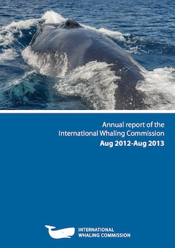 Intersessional Report of the IWC 2012-13