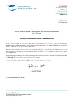 IWC.CCG.1342 | Contracting Government Financial Contributions 2019