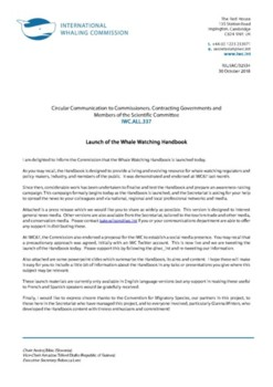 IWC.ALL.337 | Launch of the Whale Watching Handbook